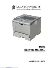 ricoh m080 service manual pdf download rh manualslib com ricoh aficio mp 3500 service manual Ricoh Mp161