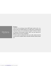 HYTERA DMR INSTALLATION MANUAL Pdf Download
