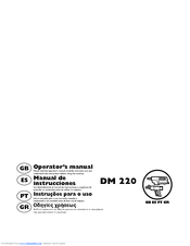 Husqvarna DM 220 Operator's Manual
