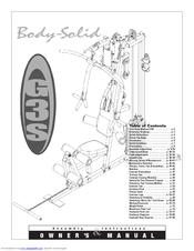 body solid g3s manuals rh manualslib com body solid gs348qp4 manual body solid exm2000s manual