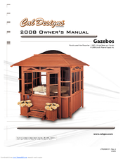 Cal spas gazebos manuals for Cal spa gazebo