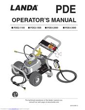 Landa Pde2 1500 Manuals