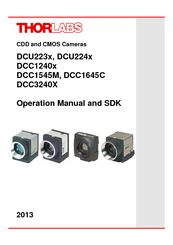 Thorlabs DCC 3240X Manuals