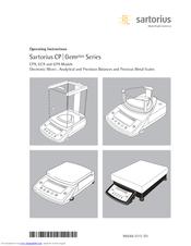 Sartorius cpa224s manuals.