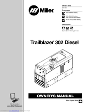 miller trailblazer 302 diesel manuals