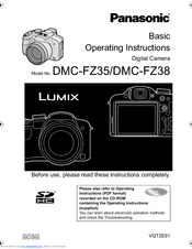 panasonic lumix dmc fz38 manuals rh manualslib com Panasonic Owner's Manual panasonic lumix dmc-fz38 instruction manual