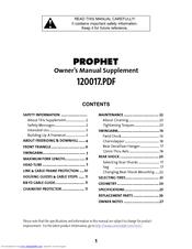 cannondale prophet manuals rh manualslib com Craigslist Cannondale Prophet Blue Cannondale Prophet 600