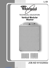 Whirlpool wtw4950xw manuals manuals and user guides for whirlpool wtw4950xw we have 4 whirlpool wtw4950xw manuals available for free pdf download technical education solutioingenieria Image collections
