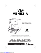 Saeco via venezia manual pdf download.