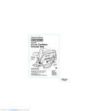 Craftsman 172.67098 Operator's Manual
