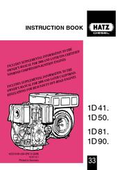hatz 1d41 instruction book pdf download rh manualslib com hatz 4l41c repair manual hatz 4l41c repair manual