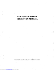 Sony ASL 609 Operation Manual