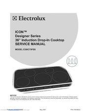 electrolux induction cooktop user manual