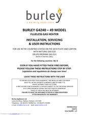Burley G4220 9 Installation, Servicing