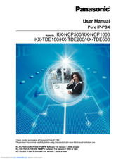Panasonic KX-NCP500 User Manual