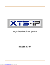 vodavi xts ip installation manual pdf download rh manualslib com