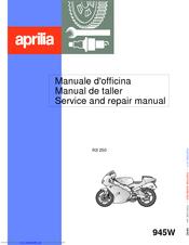 Aprilia Rs 250 Manuals Manualslib
