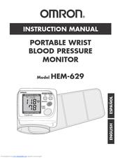 Omron hem-6200 manual.