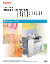 canon imagerunner c3080i manuals rh manualslib com Canon Camera User Manual Canon 7D Manual