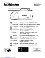 chamberlain 3780 manuals