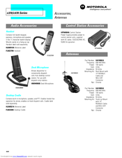 Motorola C370 Series Instructions