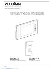videoman futuro 7 1 m user manual pdf download rh manualslib com Aiphone Intercom Wiring-Diagram futuro 7.1 intercom wiring diagram