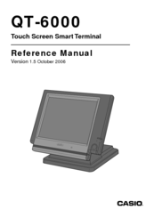 Casio QT-6100 Reference Manual