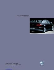 Volkswagen Phaeton Manuals Manualslib