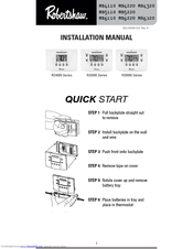 Robertshaw RS6110 Installation Manual