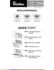Robertshaw RS6110 Installation Manual