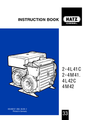 hatz 2 4l41c instruction book pdf download rh manualslib com Hatz Engine Parts Dealers Hatz Diesel Parts Diagrams
