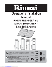 rinnai sunmaster manuals manuals and user guides for rinnai sunmaster we have 3 rinnai sunmaster manuals available for pdf operation installation manual