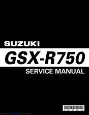 Suzuki Gsr Wiring Diagram from data2.manualslib.com