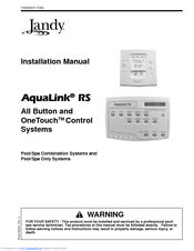 JANDY AQUALINK RS INSTALLATION MANUAL Pdf Download. on
