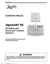 jandy aqualink rs power center manual