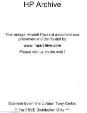 HP 7414A Operating And Service Manual