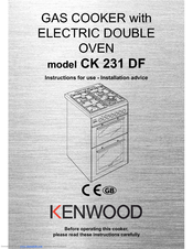Kenwood CK 231 DF Instructions For Use Manual