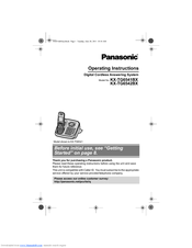 panasonic kx tga652 manuals rh manualslib com panasonic telephone kx-tga652 manual panasonic telephone kx-tga652 manual
