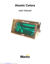 Martin Atomic Colors User Manual