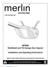 Merlin MT800 Manuals | ManualsLibManualsLib