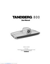 tandberg media processing system mps 800 manuals rh manualslib com Tandberg VTC Tandberg 880