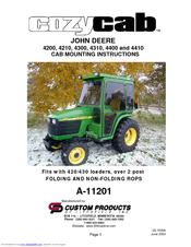 John Deere JOHN DEERE 4300 Manuals