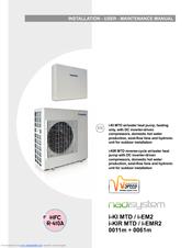 Climaveneta i-KIR MTD Manuals