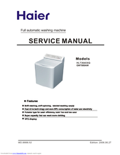 Haier HLT364XXQ - Genesis Washer Service Manual