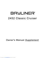bayliner 2452 classic cruiser manuals rh manualslib com bayliner 2452 owners manual pdf Bayliner 2452 Classic