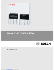 Bosch AMAX 4000 Installation Manual