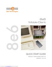 8e6 Technologies 5K02 63 Quick Start Manual