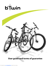 B'TWIN BICYCLE USER MANUAL Pdf Download