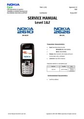 nokia 2626 cell phone gsm manuals rh manualslib com Nokia 3110 Nokia 3110
