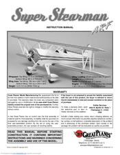 Great Planes Super Stearman Manuals
